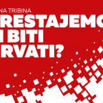 """Održana tribina Marka Ljubića """"Prestajemo li biti Hrvati?"""""""