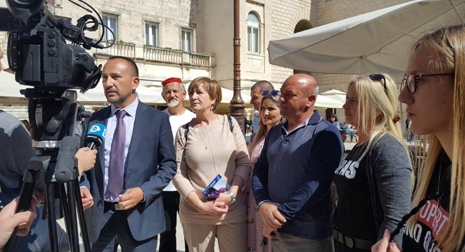 Hrvatski suverenisti u Zadru