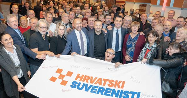 Osnovani Hrvatski suverenisti