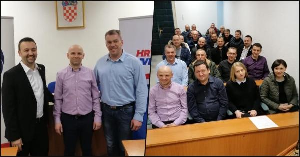Osnivanje HKS-a Županja i platforme Hrvatski suverenisti