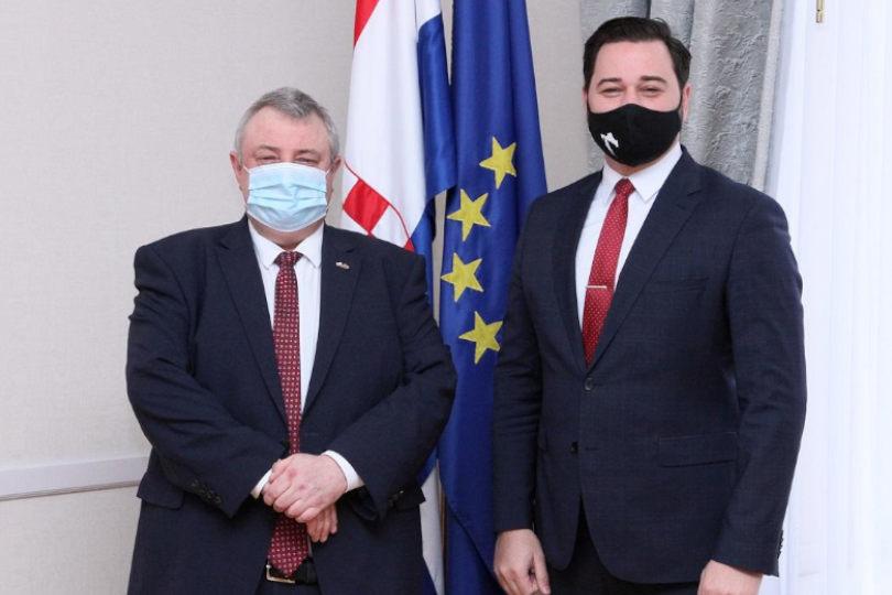 Milanović Litre održao sastanak s veleposlanikom Poljske